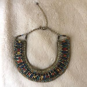 Handmade Multi-Colored Beaded Necklace